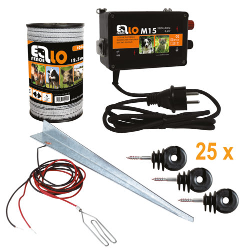 Ellofence_Set_M15+Band+Isolator+Erdpfahl_550003_