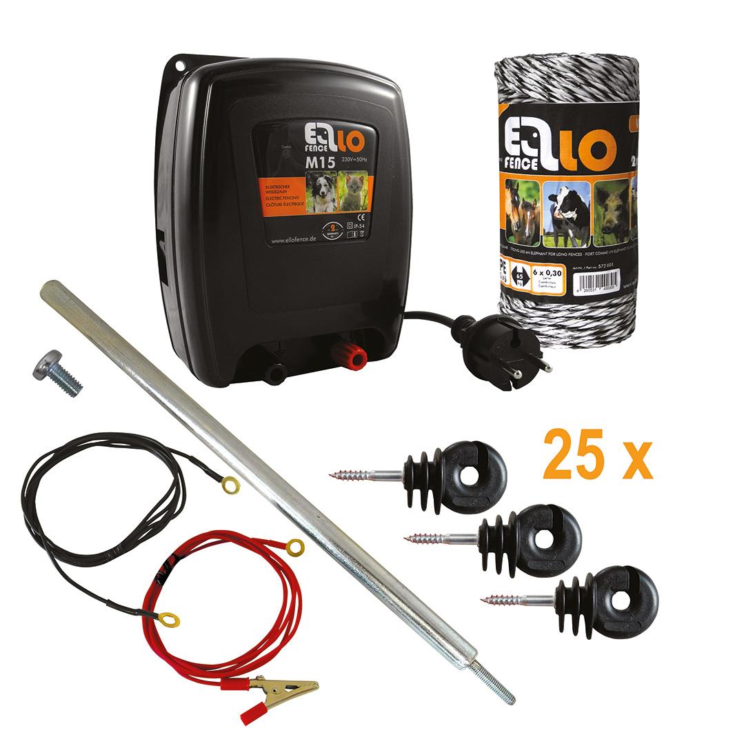 Ellofence_Set_M15NEU+Litze+Isolator+Erdpfahl_550022